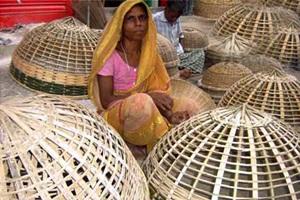 টাঙ্গাইলে বাঁশ-বেতশিল্পের কারিগররা ভিন্ন পেশায়
