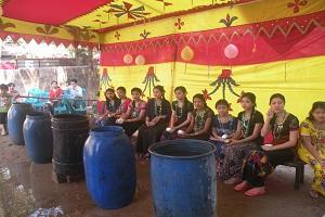 কক্সবাজারে রাখাইনদের 'সাংগ্রেং পোয়ে' উৎসব শুরু