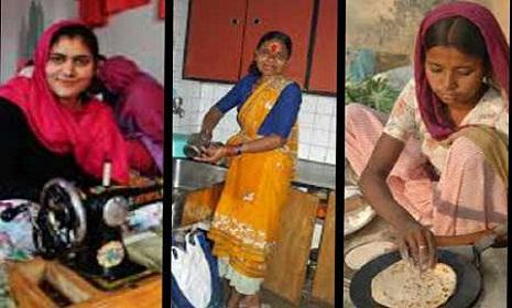 নারীদের গৃহস্থালী কাজের কোন মূল্যায়ন নেই
