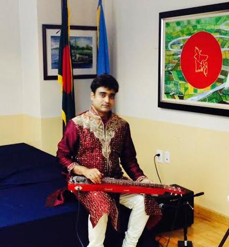 অনুপ বললেন, 'হৃদয়ে ধারণ কর বাংলাদেশ'