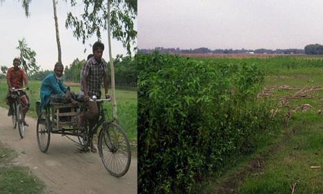 পাটগ্রামের অভ্যন্তরে ভারতীয় ছিটমহলে জনবসতি নেই
