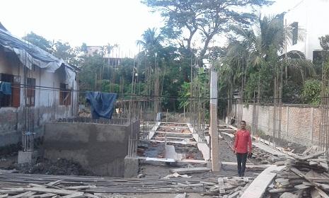 সোনাগাজীতে মুক্তিযোদ্ধা কমপ্লেক্সের নির্মাণ কাজ দ্রুত গতিতে চলছে