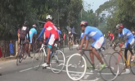 ফরচুন ট্যুর ডি বাংলাদেশ-এর সাইক্লিং প্রতিযোগিতার ২য় পর্ব গোপালগঞ্জে অনুষ্ঠিত