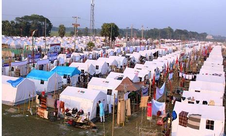 রোভার মুটের অগ্নিশিখায় আলোকিত গোপালগঞ্জ
