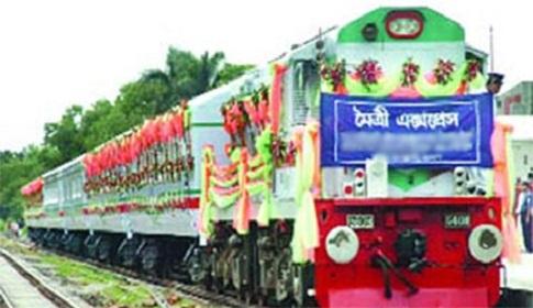 খুলনা-কলকাতা মৈত্রী ট্রেন চালু শনিবার