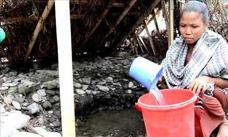 বান্দরবানে বিশুদ্ধ পানির তীব্র সংকট