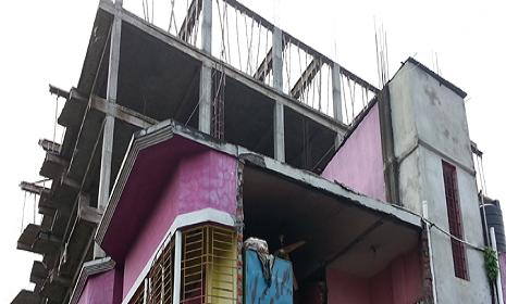 নারায়ণগঞ্জে নির্মাণাধীন ভবনে বোমা বিস্ফোরণ, আহত ২