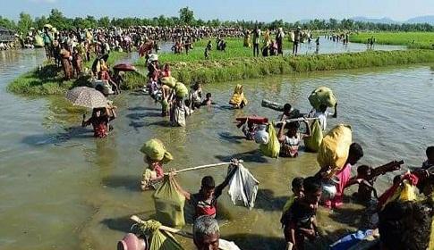 রোহিঙ্গা স্রোতে স্থানীয়রাই সংখ্যালঘু