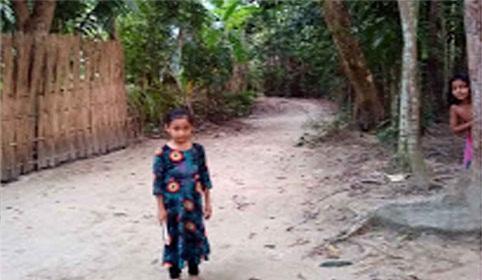 শিক্ষার আলো থেকে বঞ্চিত বাড়িভাঙ্গা গ্রামের কোমলমতি শিশুরা