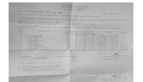 রাজারহাটে ১০ স্কুলকে কারণ দর্শানোর নোটিশ