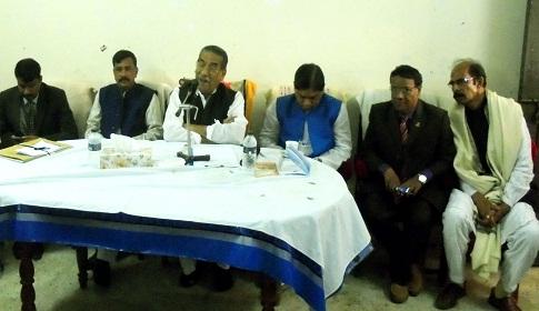 আগৈলঝাড়ায় শিক্ষকদের সাথে এমপি হাসানাতের মতবিনিময়