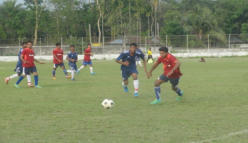 শেরপুরে আন্তঃ উপজেলা ফুটবলে নকলা চ্যাম্পিয়ন