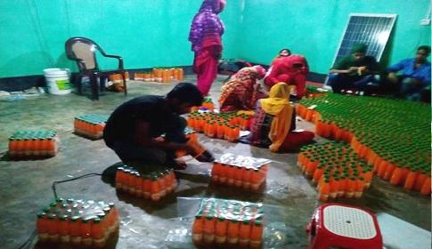 ঠাকুরগাঁওয়ে ভেজাল জুস কারখানার সন্ধান, দুই জনের জেল