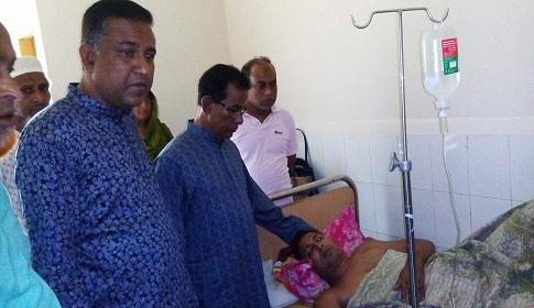 নকলায় সাংবাদিকের উপর বর্বর হামলার প্রতিবাদে নিন্দা