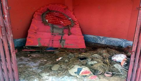নবীগঞ্জে মন্দিরের মূর্তি ভাংচুর, দানবাক্স লুট