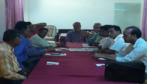 দৈনিক সিরাজগঞ্জ বার্তা পত্রিকার প্রতিনিধি সভা অনুষ্ঠিত