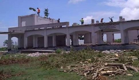 শিবচরে নদী ভাঙন শুরু, শিক্ষা প্রতিষ্ঠানসহ এলাকার ব্যাপক ক্ষয়ক্ষতির আশংকা