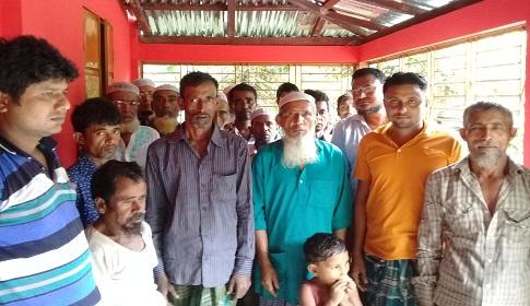 কেন্দুয়ায় সেচ প্রকল্পে বিদ্যুতের খুঁটি স্থাপনে বাধা, ৬ মাস ধরে খুঁটি স্থাপনের কাজ বন্ধ