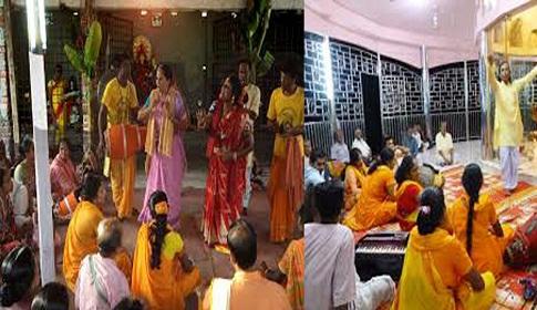 গৈলায় মনসা মন্দিরে ৩ দিনব্যাপী রয়ানি গান শুরু