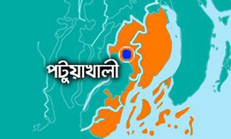 গলাচিপায় রাঙ্গাবালীর ওসির সংবাদ সম্মেলন