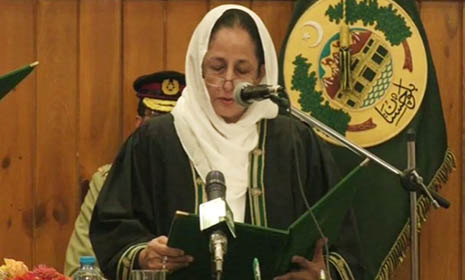 পাকিস্তানে প্রথম নারী প্রধান বিচারপতি