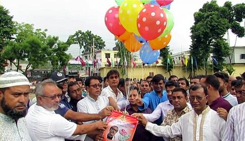 গোবিন্দগঞ্জে বঙ্গবন্ধু শেখ মুজিবুর রহমান জাতীয় গোল্ডকাপ ফুটবল টুর্নামেন্ট উদ্বোধন