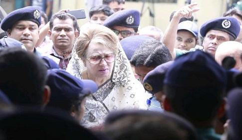 খালেদার অসুস্থতা : স্বরাষ্ট্রমন্ত্রীর সঙ্গে দেখা করতে চায় বিএনপি