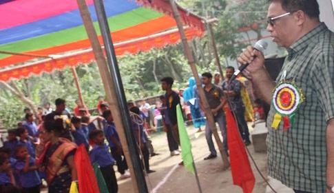 আগৈলঝাড়ায় দুই দিনব্যাপী বার্ষিক ক্রীড়া ও সাংস্কৃতিক প্রতিযোগিতার উদ্ভোধন