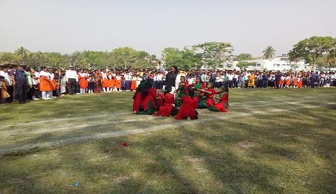 রাজবাড়ীর বালিয়াকান্দিতে মহান স্বাধীনতা ও জাতীয় দিবস পালিত