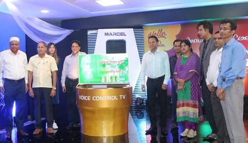 বাজারে আসছে মার্সেলের বাংলা ভয়েস কন্ট্রোল টিভি