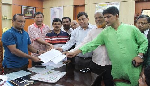 কাচারী শাহী জামে মসজিদ না ভাঙ্গার দাবি জেলা বিএনপির