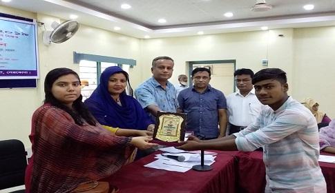 কেন্দুয়ায় জাতীয় শিক্ষা সপ্তাহ প্রতিযোগিতায় পুরষ্কার বিতরণ