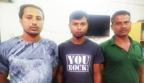 গোবিন্দগঞ্জে সম্ভুকে মারপিটের ঘটনায় তিনজন আটক
