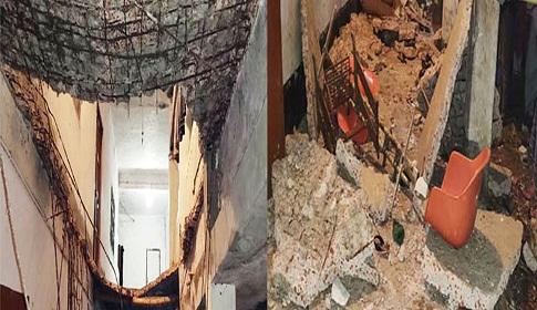 এতিমখানার পরিত্যক্ত ভবনের ছাদ ধসে ৫০ শিক্ষার্থী আহত