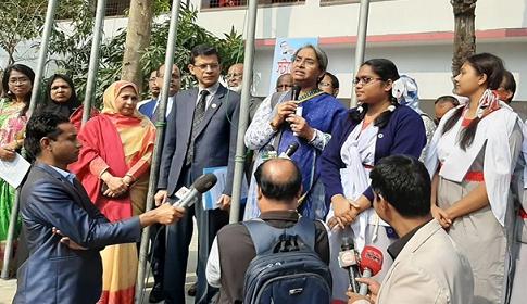 'শিক্ষা প্রতিষ্ঠানে গণতন্ত্রের চর্চা হচ্ছে'