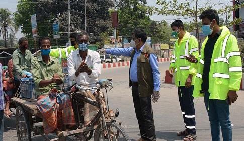 রংপুরে করোনা ভাইরাস প্রতিরোধে আইনশৃঙ্খলা বাহিনীর তৎপরতা বৃদ্ধি