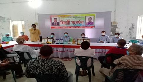 গলাচিপায় দুই সরকারি কর্মকর্তার অশ্রুসজল বিদায়