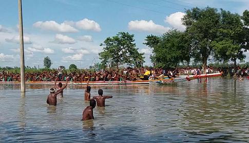 জামালপুরে মুজিববর্ষ উপলক্ষে দুই দিনব্যাপী নৌকা বাইচ অনুষ্ঠিত