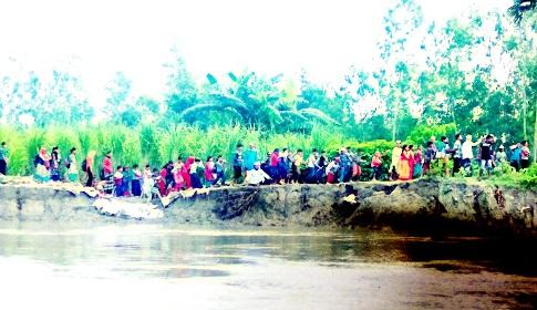 করতোয়া নদীর পানি বৃদ্ধিতে নদী ভাঙ্গন রোধে ব্যবস্থা গ্রহণের দাবি