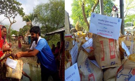খুলনায় বন্যার্তদের পাশে JU Solidarity ও ইচ্ছা