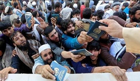 আফগানিস্তানে ভিসার আবেদন করতে গিয়েপদদলিত হয়ে ১৫ জনের মৃত্যু