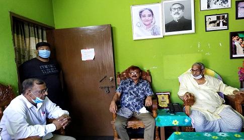এমপি নূরুজ্জামান বিশ্বাসকে অভিনন্দন জানালেন বিএনপি নেতা