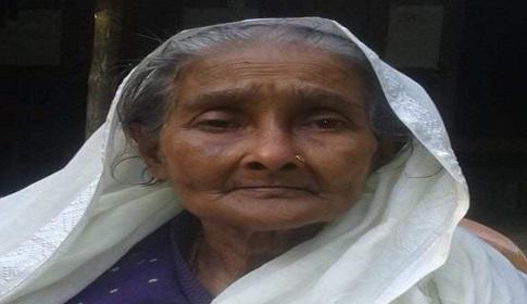 রাষ্ট্রীয় মর্যাদায় সমাহিত বীরাঙ্গনা পারুল রানী