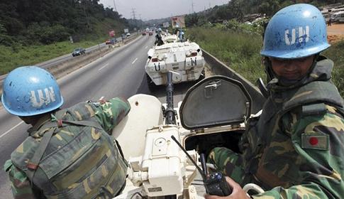 মধ্য আফ্রিকায় অতর্কিত হামলায় দুই বাংলাদেশি শান্তিরক্ষী আহত