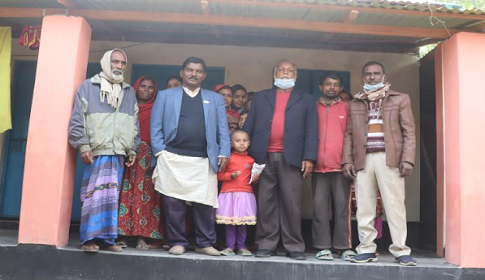 গোয়ালন্দের ছোটভাকলা ইউনিয়নের ৭৩টি গৃহহীন পরিবার পাচ্ছেন নতুন ঘর