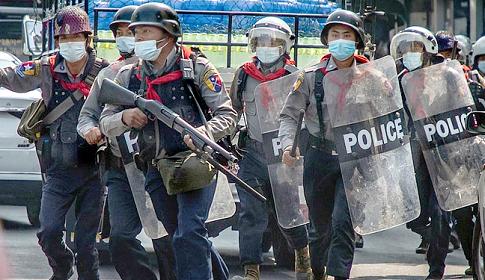 মিয়ানমারে নিরাপত্তা বাহিনীর গুলিতে ৫ জন নিহত
