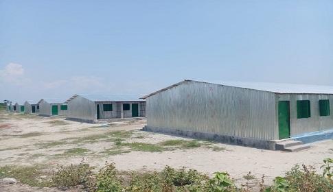 নিউচরে সেনাবাহিনীর তত্ত্বাবধায়নে নির্মিত আশ্রয়ন প্রকল্প হস্তান্তর হচ্ছে আজ
