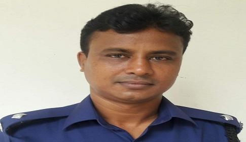 বনপাড়া হাইওয়ে থানার নতুন ওসি মোজাফ্ফর হোসেন