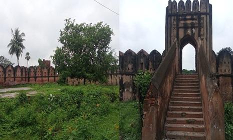 অযত্নে অবহেলায় জরাজীর্ণ হাজীগঞ্জ দূর্গ
