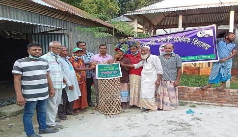 সিরাজগঞ্জে মুক্তিযোদ্ধার নামে বৃক্ষরোপণ
